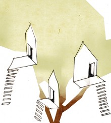 Concept Sketch: Tree House