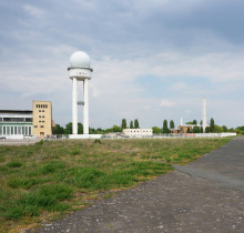 existing site conditions at Tempelhofer Feld